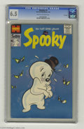 Spooky #2 File Copy (Harvey, 1956) CGC FN+ 6.5 Cream to off-white pages. Overstreet 2004 FN 6.0 value = $66; VF 8.0 valu...