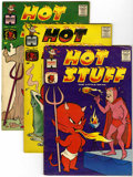 Silver Age (1956-1969):Humor, Hot Stuff, the Little Devil Group (Harvey, 1960-64) Condition: Average FN+.... (Total: 7 Comic Books)