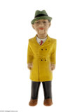 "Toys:Miscellaneous, Dick Tracy 13"" Composition Doll with Yellow Coat (Joseph Hagn Co., 1940). This Dick Tracy 13"" Composition Doll sports a yell..."