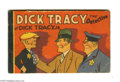 Memorabilia:Comic-Related, Dick Tracy the Detective and Dick Tracy Jr. - Korlix Premium (Whitman, 1933) Condition: FN. Promoting sales of Korlix puddin...