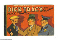Dick Tracy the Detective and Dick Tracy Jr. - Korlix Premium (Whitman, 1933) Condition: FN. Promoting sales of Korlix pu...