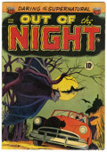 Golden Age (1938-1955):Horror, Out of the Night #1 (ACG, 1952) Condition: GD/VG....