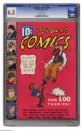 """Platinum Age (1897-1937):Miscellaneous, Popular Comics #10 (Dell, 1936) CGC FN+ 6.5 Off-white pages. This Platinum Age comic is a Gerber """"7"""", and it's the only copy..."""