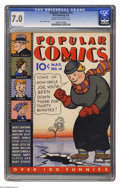 Platinum Age (1897-1937):Miscellaneous, Popular Comics #14 (Dell, 1937) CGC FN/VF 7.0 Cream to off-white pages. Characters include Dick Tracy, Harold Teen, and the ...