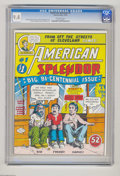 Bronze Age (1970-1979):Alternative/Underground, American Splendor #1 (Harvey Pekar, 1976) CGC NM 9.4 Off-white pages. Harvey Pekar's ground-breaking autobiographical comic ...