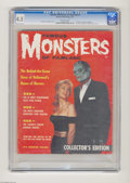 Magazines:Horror, Famous Monsters of Filmland #1 (Warren, 1958) CGC VG+ 4.5 Off-white pages. Here's a rare copy of Warren Publishing's first m...