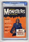 "Magazines:Horror, Famous Monsters of Filmland #2 (Warren, 1958) CGC FN- 5.5 Off-white pages. ""Dear Monsters"" letter page begins. First appeara..."