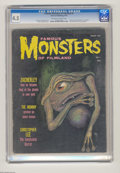 Magazines:Horror, Famous Monsters of Filmland #4 (Warren, 1959) CGC VG+ 4.5 Off-white to white pages. Zacherley and Christopher Lee articles. ...