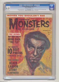 "Famous Monsters of Filmland #5 (Warren, 1959) CGC FN 6.0 Off-white to white pages. ""Return of the Fly"" and &qu..."