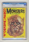 "Magazines:Horror, Famous Monsters of Filmland #12 (Warren, 1961) CGC VG/FN 5.0 Off-white to white pages. ""Curse of the Werewolf"" movie preview..."