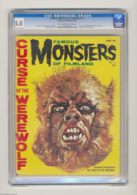 "Famous Monsters of Filmland #12 (Warren, 1961) CGC VG/FN 5.0 Off-white to white pages. ""Curse of the Werewolf""..."