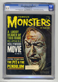 Magazines:Horror, Famous Monsters of Filmland #14 (Warren, 1961) CGC FN- 5.5 Off-white to white pages. Make-up artist Dick Smith article and p...