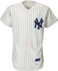 "Baseball Collectibles:Uniforms, 1961 Bill ""Moose"" Skowron Game Worn New York Yankees Jersey. ..."