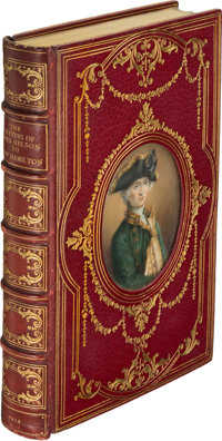 [Cosway Binding]. [Miss Currie]. Lord Nelson. The Letters of Lord Nelson to Lady Hamilton; w