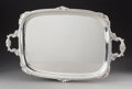 Silver & Vertu:Holloware, An Alexander Clark Manufacturing Co. Silver Two-Handled Tray, Sheffield, England, 1905. Marks: (lion passant), (crown), n,...