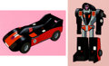 Animation Art:Color Model, Challenge of the GoBots Crasher Color Model Cel Group of 2(Hanna-Barbera, 1984).... (Total: 2 Items)