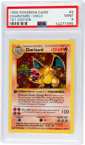 Memorabilia:Trading Cards, Pokémon Charizard #4 First Edition Base Set Rare Hologram TradingCard (1999) PSA MINT 9. ...