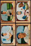 Baseball Cards:Lots, 1955 Bowman Baseball Collection (129) With Stars. ...