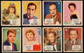 Non-Sport Cards:Sets, 1952 FC26-2B Canadien Shredded Wheat Movie Stars Set (48) WithExtras....