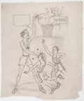Original Comic Art:Miscellaneous, Edgar Church My Hero Preliminary Original Art (c. 1930s). ...