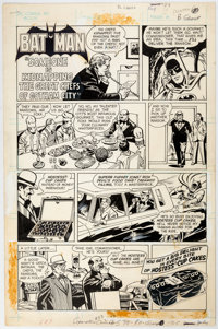 """Curt Swan and Tex Blaisdell Hostess Cup Cakes Ad """"Batman in 'Someone is Kidnapping the Great Chefs of Gotham""""..."""