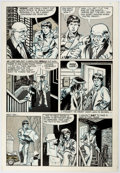 Original Comic Art:Panel Pages, Steve Stiles Death Rattle #7 Story Page 4 Original Art (Kitchen Sink Press, 1986)....