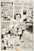 Original Comic Art:Panel Pages, Curt Swan and Tex Blaisdell Action Comics #441 Story Page 10 Original Art (DC, 1974)....