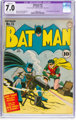 Batman #15 (DC, 1943) CGC Apparent FN/VF 7.0 Slight (C-1) Off-white to white pages