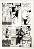 Original Comic Art:Panel Pages, Howard Chaykin Black Kiss #9 Story Page 7 Original Art(Vortex, 1989)....