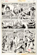 Original Comic Art:Panel Pages, George Tuska and Vince Colletta Power Man #28 Story Page 7 Original Art (Marvel, 1975)....