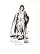 Hal Foster - Prince Valiant Signed Print (undated).... (1)