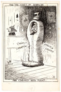Original Comic Art:Illustrations, George Herriman The Lives and Times of Archy & MehitabelOriginal Art (Doubleday Publ., 1927). ...