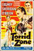 "Movie Posters:Adventure, Torrid Zone (Warner Brothers, 1940). Folded, Fine. Australian One Sheet (27"" X 40""). Adventure.. ..."