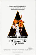 """Movie Posters:Science Fiction, A Clockwork Orange (Warner Brothers, 1971) Folded, Very Fine-. One Sheet (27"""" X 41"""") R Rated Style. Philip Castle Artwork. S..."""