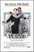 """Movie Posters:Comedy, Trading Places (Paramount, 1983) Folded, Very Fine+. One Sheet (27"""" X 41""""). Comedy...."""