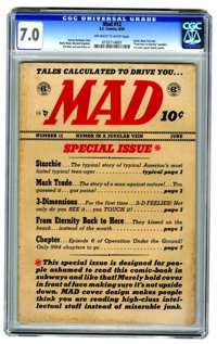 MAD #12 (EC, 1954) CGC FN/VF 7.0 Off-white to white pages