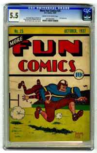 More Fun Comics #25 (DC, 1937) CGC FN- 5.5 Cream to off-white pages