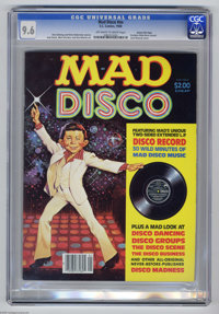 Mad Disco Gaines File pedigree (EC, 1980) CGC NM+ 9.6 Off-white to white pages. Includes Mad Disco record. Jack Rickard...