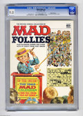 Silver Age (1956-1969):Humor, Mad Follies #2 Gaines File pedigree (EC, 1964) CGC VF/NM 9.0 Off-white to white pages. Includes a 1965 Mad wall calendar...