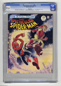 Silver Age (1956-1969):Superhero, Spectacular Spider-Man #2 (Marvel, 1968) CGC NM+ 9.6 White pages. Here's one more copy of the short lived magazine-sized, fu...