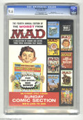 Silver Age (1956-1969):Humor, Worst From Mad #4 White Mountain pedigree (EC, 1961) CGC NM+ 9.6 Off-white to white pages. This is the classic issue of Wo...