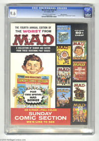 Worst From Mad #4 White Mountain pedigree (EC, 1961) CGC NM+ 9.6 Off-white to white pages. This is the classic issue of...