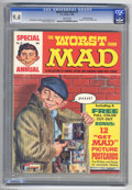 Silver Age (1956-1969):Humor, Worst From Mad #12 Gaines File pedigree (EC, 1969) CGC NM 9.4 White pages. Includes 12 picture postcards. Norman Mingo cover...