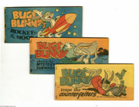Bugs Bunny Puffed Rice Giveaway Group (Quaker, 1949) Condition: Average VG/FN. A nearly complete set of this cool little...