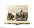 Memorabilia:Miscellaneous, The Legend of Davy Crockett Pop-Up Book and Toys (Mopack Corp, 1955) Condition: VG+. The full title of this interesting item...