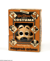 Mickey Mouse Ben Cooper Halloween Costume (undated). This vintage Mickey Mouse Halloween costume (undated, but probably...