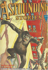 Astounding Stories Bound Volume Group (Street & Smith, 1930-41). This lot consists of a very impressive set of bound...