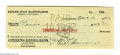 Memorabilia:Miscellaneous, Edgar Rice Burroughs - Tarzan and the Foreign Legion Book and Signed Check (Edgar Rice Burroughs Inc., 1947). With this lot,...