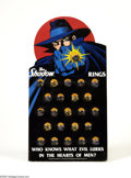 Memorabilia:Comic-Related, The Shadow Promotional Ring Set (Universal City Studios, 1994). Combining '30s ambiance and mind-blowing '90s special effect... (Total: 24 Items Item)