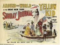 R. F. Outcault - Yellow Kid Advertising Poster (circa 1898). Hully Gee! The Yellow Kid was America's first comic charact...